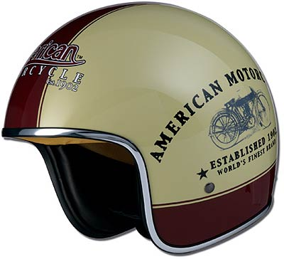 Marushin AMERICAN MOTORCYCLE, white-red