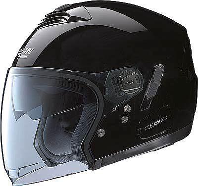 Image For Nolan-N43E-Classic-black-jet-helmet