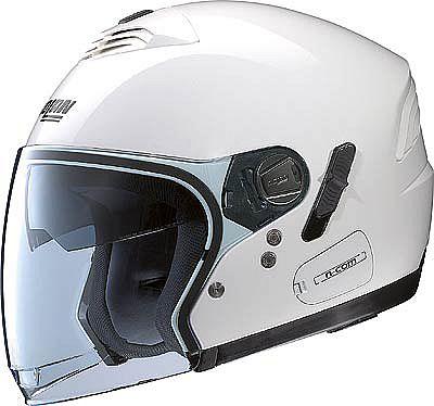 Image For Nolan-N43E-Classic-white-jet-helmet