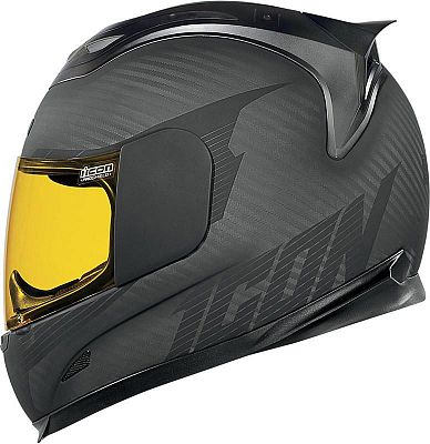Motoin NL Icon Airframe Ghost Carbon, integral helmet