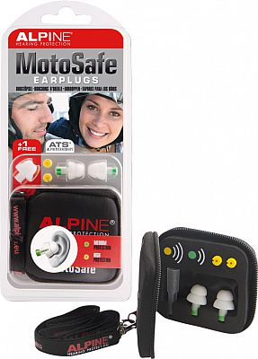 Alpine Moto Safe, earplugs