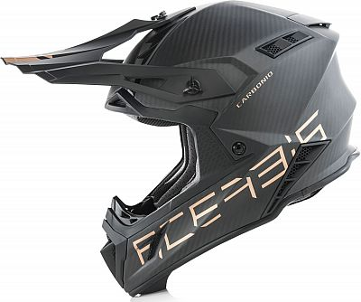 Acerbis Impact Steel Carbon S19, casco cruzado