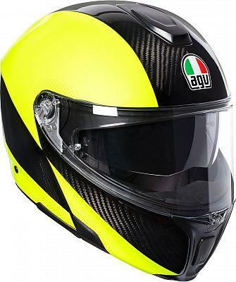 AGV-Sportmodular-Hi-Vis-levante-casco