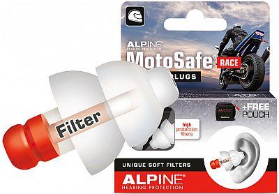 Alpine MotoSafe Race VE6, terminales