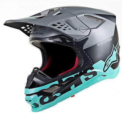 Alpinestars Supertech S-M8 Radium, casco cruzado