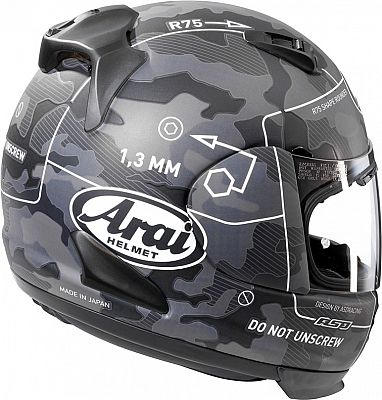 arai rebel command integralhelm. Black Bedroom Furniture Sets. Home Design Ideas