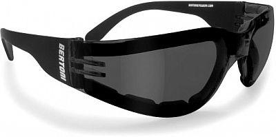 Bertoni AF150A, Sonnenbrille Antifog Schwarz/Gelb