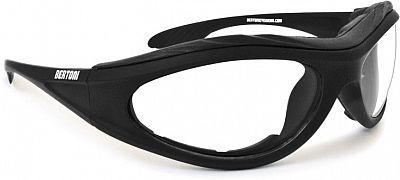 Bertoni F125A, Sonnenbrille polarisierend Schwarz , Größe Einheitsgröße