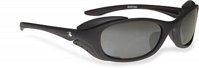 Bertoni P123A, Sonnenbrille polarisierend Schwarz Getönt