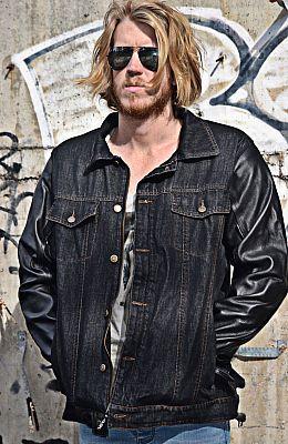 Blackbird Brixton, chaqueta textil
