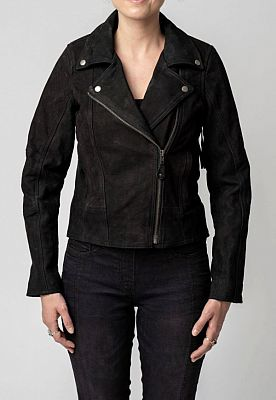 Blackbird Festival Fringe, chaqueta de cuero mujeres