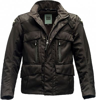 Blauer Kaleido, chaqueta impermeable textil