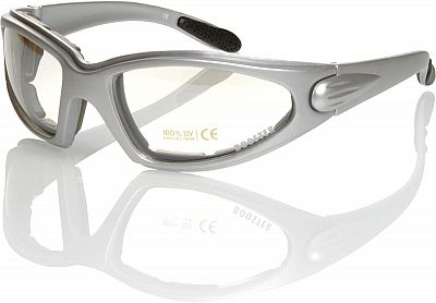 Booster Kilpi, Sonnenbrille Silber Klar