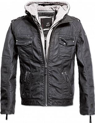 Brandit-Black-Rock-chaqueta-de-cuero-sintetico