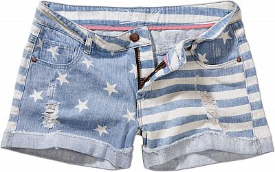 Brandit-Denim-Hotpants-Stars-Stripes