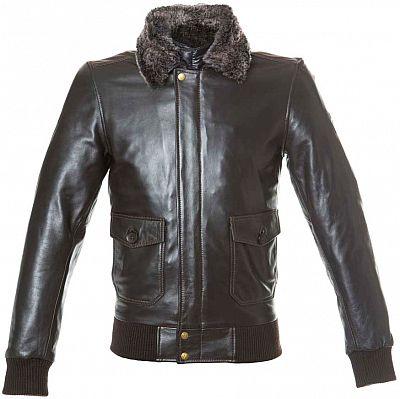 ByCity Aviator, chaqueta de cuero