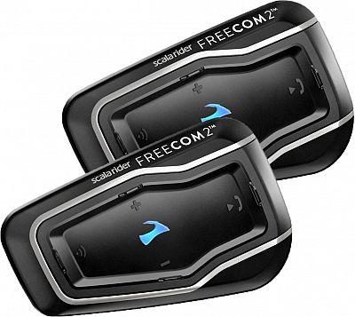 Image For Cardo Scala Rider Freecom 2, Kommunikationssystem Doppelset