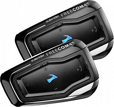 Image For Cardo Scala Rider Freecom 4, Kommunikationssystem Doppelset