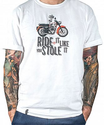 Crave Ride It Like You Stole It, camiseta