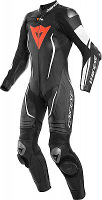 Dainese Misano 2 D-Air, leather suit 1pcs. perforated women