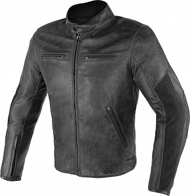 Image of Dainese Stripes D1, leather jacket perforated