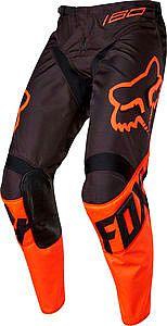 Motorcykler FOX 180 S17 Race, textile pants kids