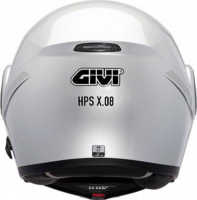 Givi X08 X Modular Retournez En Haut Casque Motoinde