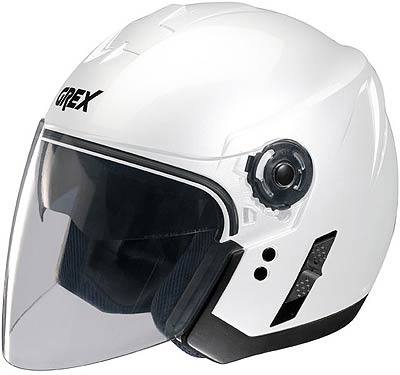Image For Grex-J2-Club-white-jet-helmet