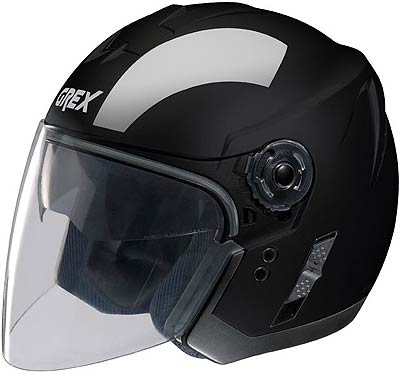 Image For Grex-J2-Club-black-jet-helmet