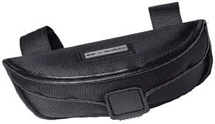 Held sunglasses case, velcro-system