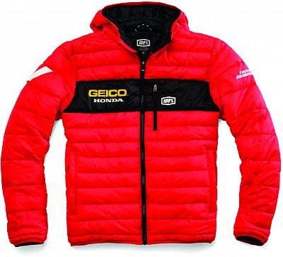 100-Percent-Team-Geico-Puffer-Chaqueta-Textil