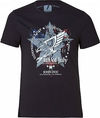 MotoinUSA John Doe 4th of July, T-shirt
