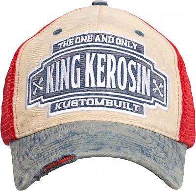 King Kerosin Race Gear Casquette Orange