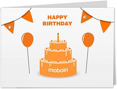 Motoin gift card 25€ for non Europe customers, imprimir en casa