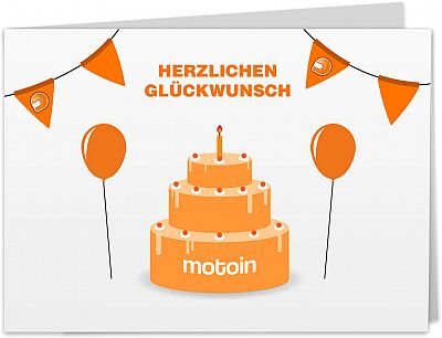 Motoin gift card 50€ within europe, imprimir en casa