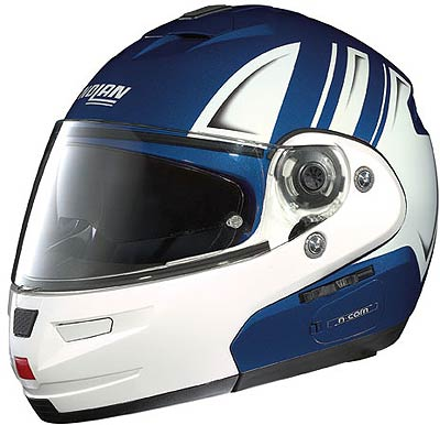 Image For Nolan N103 MOTORRAD, blue-white