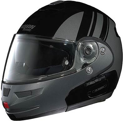 Image For Nolan-N103-MOTORRAD-black-metallic-grey
