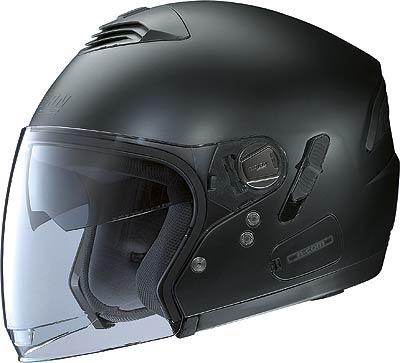 Image For Nolan-N43E-Classic-matt-black-jet-helmet