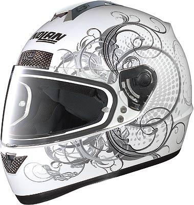 Nolan N63 Wing, integral helmet