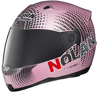 Nolan N85 Optical matt-pink, integral helmet