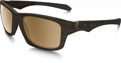 Oakley Jupiter Squared Woodgrain Edition, lunettes de soleil pol Marron Bronze Réfléchissant