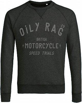 Oily Rag Clothing British Motorcycles Speed Trials, Sudadera