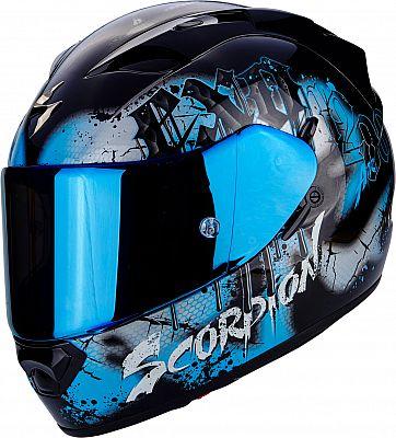 scorpion exo 1200 air tenebris integral helmet. Black Bedroom Furniture Sets. Home Design Ideas