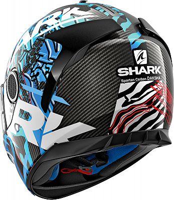 negro Shark Spartan Daksha color verde casco integral de carbono talla XXL