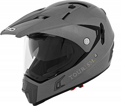 Shiro MX-311 Solid, casco cruzado