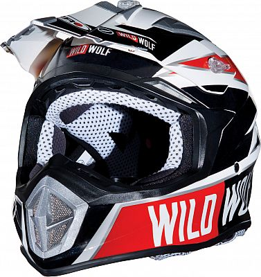 Shiro MX-912 Thunder Wild Wolf, cross helmet