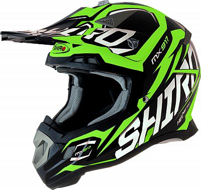 Shiro MX-917 Thunder, casco cruzado