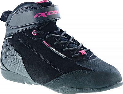 Ixon Speeder, kurze Stiefel Frauen Schwarz/Pink , Größe 38 EU