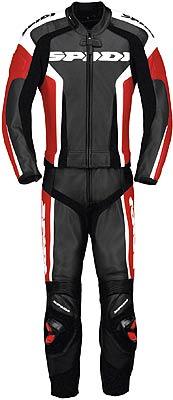 Image For Spidi-RR-Touring-leather-suit-2pcs