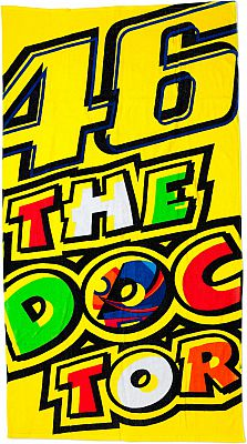 VR46 Racing Apparel 46 The Doctor, toalla de playa